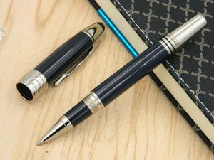 Business new Navy blue metal Quality serial number series luxury gift silver METAL ROLLERball PEN