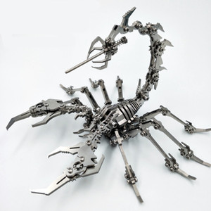 Wholesale Scorpion D Steel metal puzzle assemble gift and toy DIY and finished model