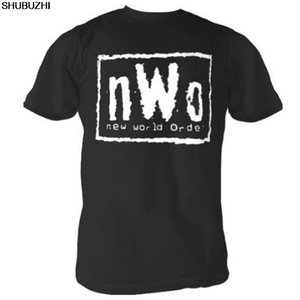 Wholesale NWO New World Order Wrestling Adult Black T shirt Casual pride t shirt men Unisex New shubuzhi tshirt Loose Size top sbz3047