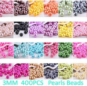 Wholesale Fret Free mm Colors Abs Imitation Pearl Accounts Of Round Plastics Making Jewelry Bricolage Beads Jewellery Necklace