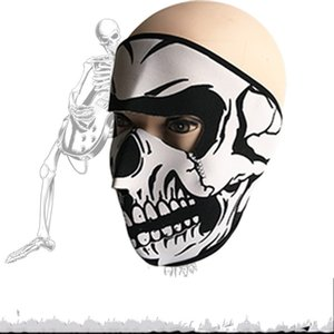 Wholesale Skull Clown Mask Outdoor Sport Cycling Windbreak Ultraviolet Proof Dustproof Full Face Facepiece Bardian Creative Party Decorate Props lnD1