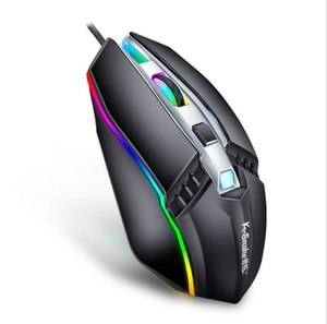 Hotsell Wired Mouse Gamer LED Light 4 Button 1000DPI Optical Usb Ergonomic Pro Gamer Gaming Mouse For Laptop Mice