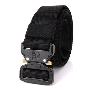 Wholesale 1 Inch Quick Release Tactical Belt Nylon Waistbanc Mens Heavy Duty US Soldier Combat Tactical Belts