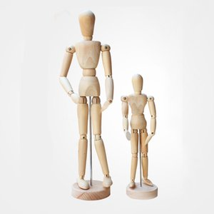 Wholesale Artist Movable Limbs Male Actions figure Toy Wooden Model Art Sketch draw High Quality Action Figure Toy For Cartoon Drawing