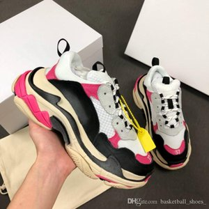 Fashion qinmin123 chaussures 2.0 triple s platform brand casual shoes designer sports sneakers old shoes Trainers zapatos size 35-45 on Sale
