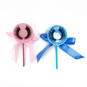 HOT SALE colorful lollipop Premium Silk eyelash syntheticy faux mink Natural Long eyelash,Big eyes Secret,wholesale product hot selling