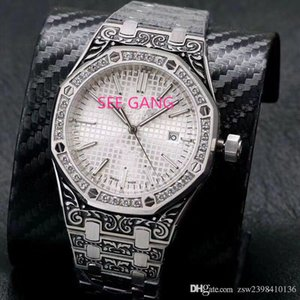 Wholesale New listing diamonds quality men s watch calendar watch black pattern series automatic mechanical classic noble