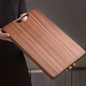 Wholesale High Quality Kitchen Tools Cut Vegetables Cut meat Double Sided Use Cutting Borad Ebony Wood Cutting Board Wood Chopping Board
