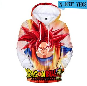 Wholesale kids Novelty D Hoodie Sweatshirt in boy s dragon ball Autumn Anime DRAGON BALL Outwear dragon ball D High Quality Clothes