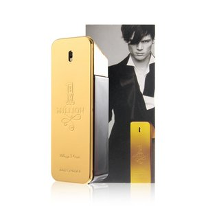 Wholesale 2018 Hot perfume! rabanne Gold Million perfume man 100ml perfume with long lasting time Million Spary perfume Anti-Perspirant Deodorant
