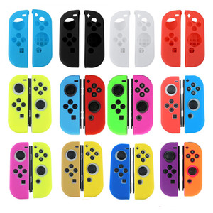 Joycon Soft Silicone Protection Skin Case for Nintend Switch Joy-Con Controller Protective Cover DHL FEDEX EMS FREE SHIPPING