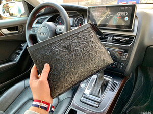 Wholesale Luxury PU women and men Multi funcito handbags Simple handbags for Long wallets clutch female leather handbags Women Clutch hand bag