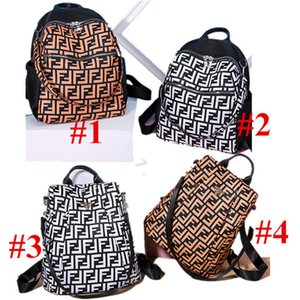 Wholesale FF Letter Designer Shoulder Bags Women Travel Backpack Brand Fends Girls Rucksack Waterproof Knapsack Oxford Large Capacity School bagC91609