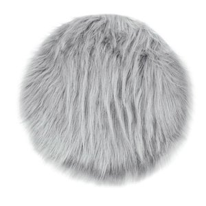 Wholesale New Soft Faux Fur Wool Living Room Sofa Carpet Plush Carpets Bedroom Cover Mattress Xmas Door Window Fashion Round Rugs Carpets