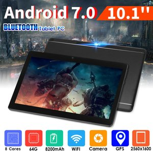 "10.1"" 64G Tablet PC Android 7.0 Octa Core 2Ghz 10 Inch WIFI 2SIM 4G Phablet NF"