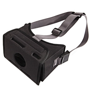 Wholesale Virtual Reality Stretched Strap Fashion VR Game Movie Black Mounted Easy Wear EVA D Glasses Universal Home For Switch