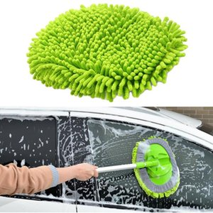 Wholesale SALE Car Spin Wet Mop Head Microfiber Auto Cleaning Mop Head Refill for Car and Home Quick delivery CSV