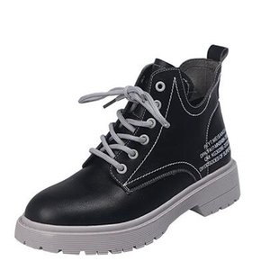 Martin boots female 2019 new autumn thick-soled sports boots women's British fan car boots