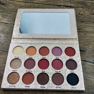 Wholesale makeup platte resale online - maquillage makeup eye shadow platte gladsheim huxiabueaty professional makeup color Eyeshadow Palette dhl