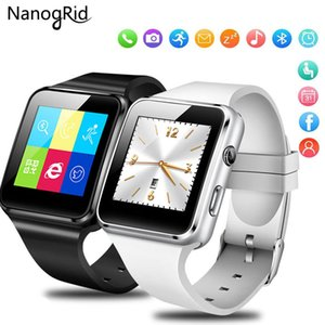 Wholesale Bluetooth Smart Watch with Camera Touch Screen Support SIM TF Card Whatsapp X6 Smartwatch for iPhone Xiaomi Android Phone