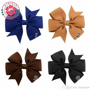 Wholesale Hairpin Korean Fashion Cute Hairpins Gig Bow Beautifully Hair Clip for Women Pink Red Blue colors Hair jewelry