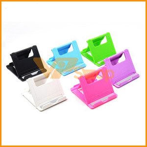 Wholesale Universal Phone Holder Foldable Flexible Desktop Lazy Folding Cellphone Stand Mobile Phone Bracket for iPhone Samsung
