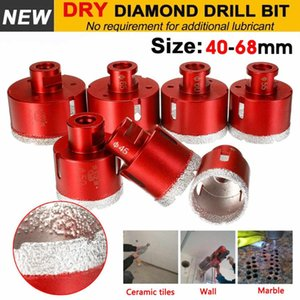 Doersupp 40-68mm M14 Marble Opener Diamond Drill Core Bits Drilling Hole Saw Tools For Tile Marble Granite Stone Concrete Drill on Sale