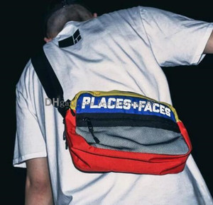 2019 new fashion Brand Places+Faces 3M Reflective Skateboards Bag P+F Message BagsMini Mobile Phone Packs Casual Men And Women Shoulder Bag