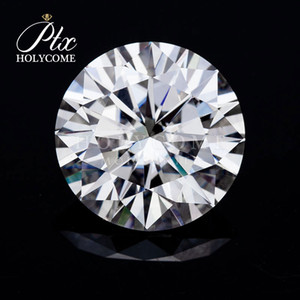 GRC certification High quality 11mm Round brilliant cut 5ct Synthetic moissanite diamond packaging jewelry as gift