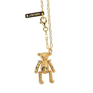 2019 Release Slivery Golden Rose Dice Bear Cans Rabbit Candy Fashion Women Men Unisex Necklace Streetwear Long Chain Necklace Choker Jewelry