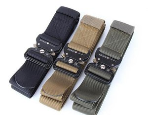Wholesale 2019 he New ENNIU CM Quick Release Buckle Belt Quick Dry Outdoor Safety Belt Training Pure Nylon Duty Tactical Belt
