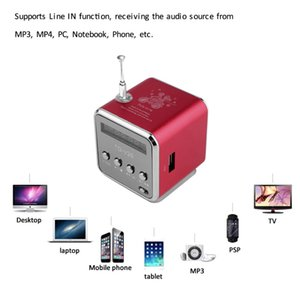 Portable Speakers Micro USB Mini Stereo Super Bass Speaker Ubwoofer Music MP3 MP4 FM Radio Receiver soundbar