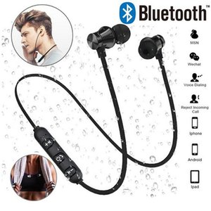 XT11 magnetic Bluetooth Headphones with MIC Wireless Bluetooth Earphone Sport Sweatproof Bass Music Headset for Mobile Phones