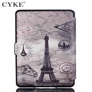 Wholesale For Kindle 2016 2019 Painted Case Leather Flip for Kindle Oasis Voyage Paperwhite 1 2 3 Fire HD 8 10 2017