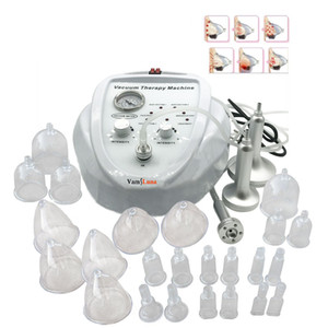 Wholesale New listing Vacuum Massage Therapy Enlargement Pump Lifting Breast Enhancer Massager Bust Cup Body Shaping Beauty Machine