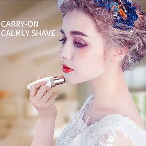 Wholesale Lady Hair Remover Female Mini Electric Epilator Lipstick Shape Shaving Shaver Lady Hair Remover For Women Body Face