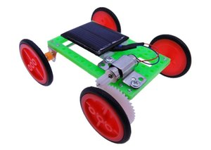 Wholesale elite models for sale - Group buy Solar Elite Car Solar Car Technology Making Publicity Toy Model for Primary and Middle Schools