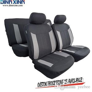 Wholesale DinnXinn 111091F9 Chevrolet 9 pcs full set Genuine Leather car seat covers leather seat covers Export from China