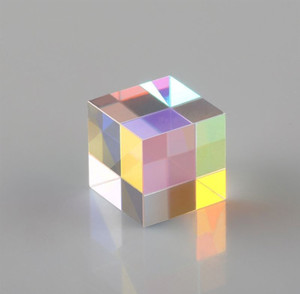 Wholesale Teaching Aid Toy Color Matching Mirror Toy Laser Beam Combine Cube Six Sides Prism Mirror For Blue Laser Diode Module Toy