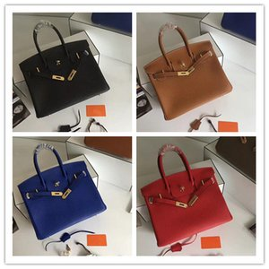 2019 Women Leather Totes Imported Top quality togo Leather fine grain Non-deformable super soft handbags High cost effective bags