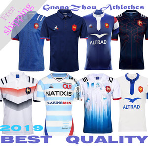 Wholesale best quality France Super Rugby Jerseys France Rugby French Rugby shirt size S-3XL