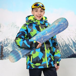 Wholesale Brand New Children s Ski Suit Ski Jacket and Pant Kids Boys Snowboard Set Snowboard Jacket Outdoor Winter Thermal Coat and pant