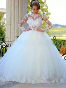 Wholesale Nice No Tail Vintage Lace East Bridal Ball Gown Pakistani Wedding Dresses Spanish Designer Backless The Best Wedding Dress