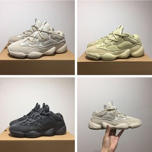Wholesale Desert Rat Mens Designer Shoes Kanye West Blush Supermoon Yellow Utility Black Cow Leather Sports Shoes