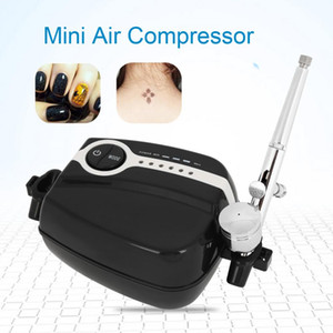 Wholesale Mini Air Compressor Kit Airbrush Painting Machine Mini Air Compressor for Cake Decorating Body Paint Tattoo Nail Art Painting