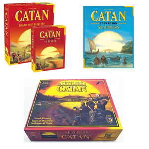 CATAN Board Game Family Fun Playing Parent-child Interaction Strategy Game Card English Table Party Supplies Board game toy