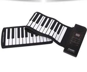 Wholesale Hand roll piano key folding piano thickening with hand feeling portable roll piano