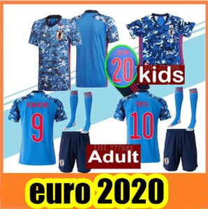 Wholesale 2020 Japan home Soccer Jersey HONDA Japan national team soccer Shirt KAGAWA OKAZAKI Men Jersey kids kit football uniforms