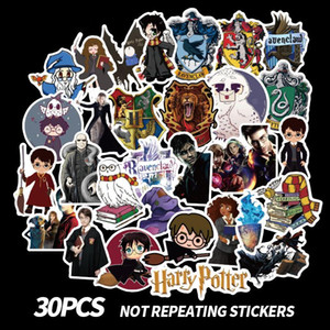 Wholesale harry potter Stick harry potter pasters fans decals scrapbooking diy stickers decorations phone waterproof cartoon accessories gifts