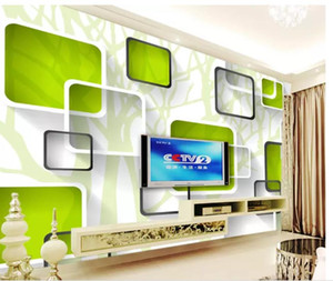 Wholesale wallpaper spring for sale - Group buy Woods spring D TV background wall mural d wallpaper d wall papers for tv backdrop